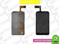 Модуль  HTC T328w Desire V (дисплей + тачскрин), чёрный
