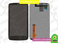 Модуль  HTC Z715e Sensation XE G18 (дисплей + тачскрин), чёрный