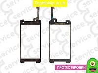 Тачскрин  HTC 901e/901s Butterfly S, чёрный (сенсор, touch screen)