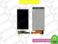 Модуль  Huawei P6-U06 Ascend (дисплей + тачскрин), розовый