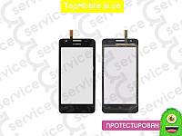 Тачскрин  Huawei G510 U8951 Ascend/G520/G525, чёрный (сенсор, touch screen)