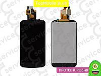 Модуль  LG E960 Nexus 4 (дисплей + тачскрин), чёрный, оригил (Китай)