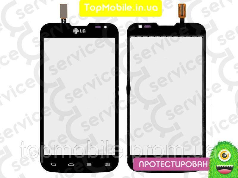 Сенсор LG D325 Optimus L70 Dual Sim, черный (тачскрин, стекло)