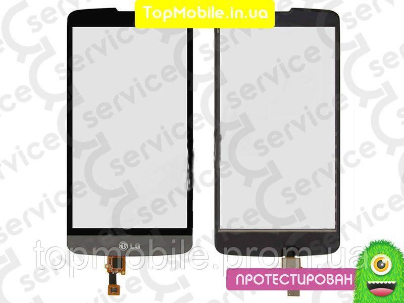 Сенсор LG D331 L Bello Dual Sim/D335, серый, оригинал (Китай) (тачскрин, стекло)