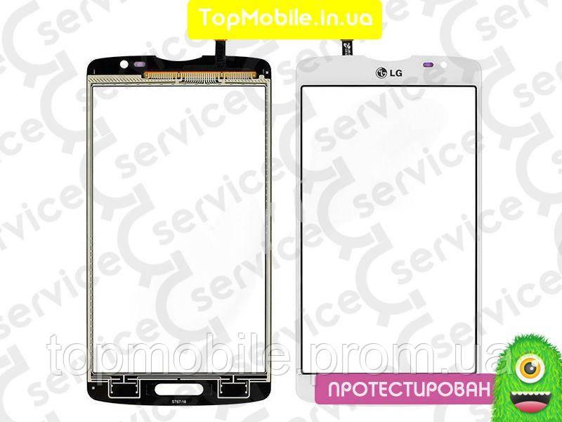 Сенсор LG D380 L80 Dual Sim, белый, оригинал (Китай)  (тачскрин, стекло)