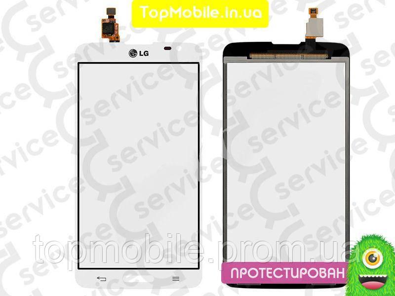 Сенсор LG D680 G Pro Lite/D684, белый, оригинал (Китай) (тачскрин, стекло)