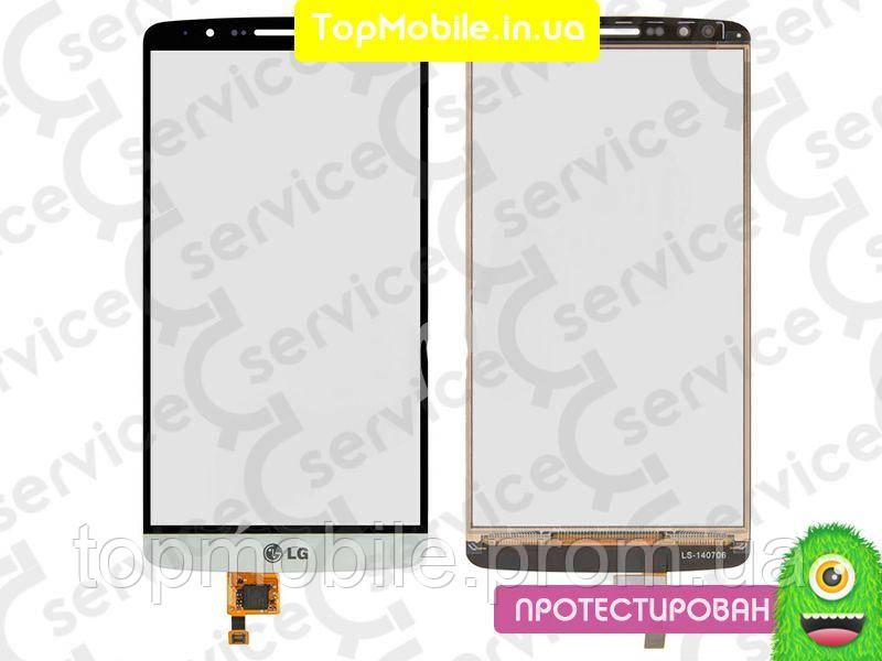 Сенсор LG D855 Optimus G3/D858/D859, белый (тачскрин, стекло)