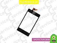 Тачскрин  LG E615 Optimus L5 Dual, чёрный (сенсор, touch screen)