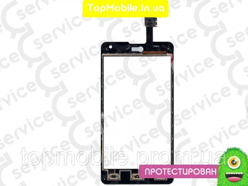 Сенсор LG E975 Optimus G/E971/E973/E976/E977/F180, черный (тачскрин, стекло)