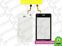 Тачскрин  LG KU990 Viewty/KE990/KG990, белый (сенсор, touch screen)