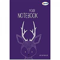 Блокнот для рисования творческий Фиолетовый Artbook B6 недатированный