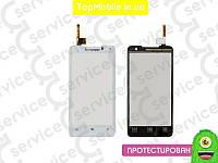 Тачскрин  Lenovo P770, белый (сенсор, touch screen)