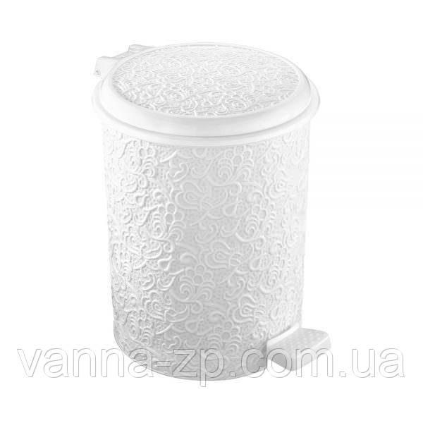 Ведро мусорное ажурное пластик 16 л