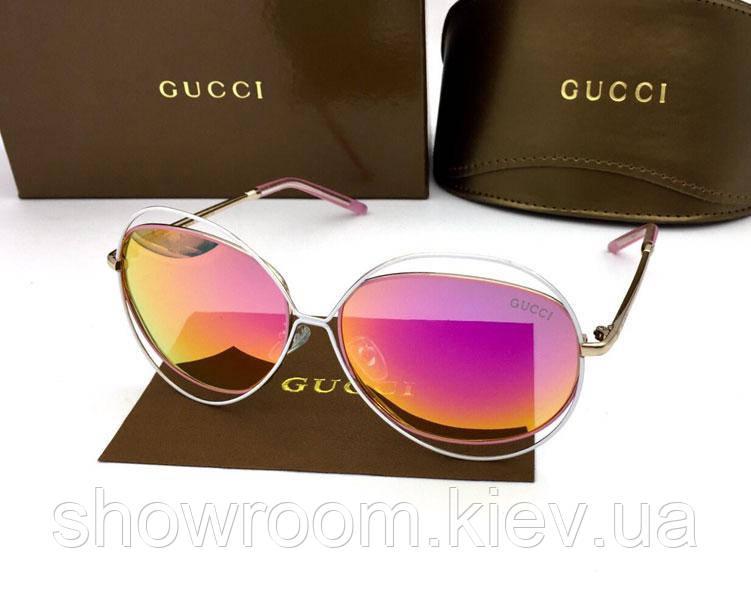 Солнцезащитные очки в стиле GUCCI (1002) red