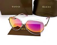 Солнцезащитные очки в стиле GUCCI (1002) red, фото 1