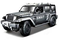 Автомодель Maisto 1:18 Jeep Rescue Concept Police Чёрный (36211 black)