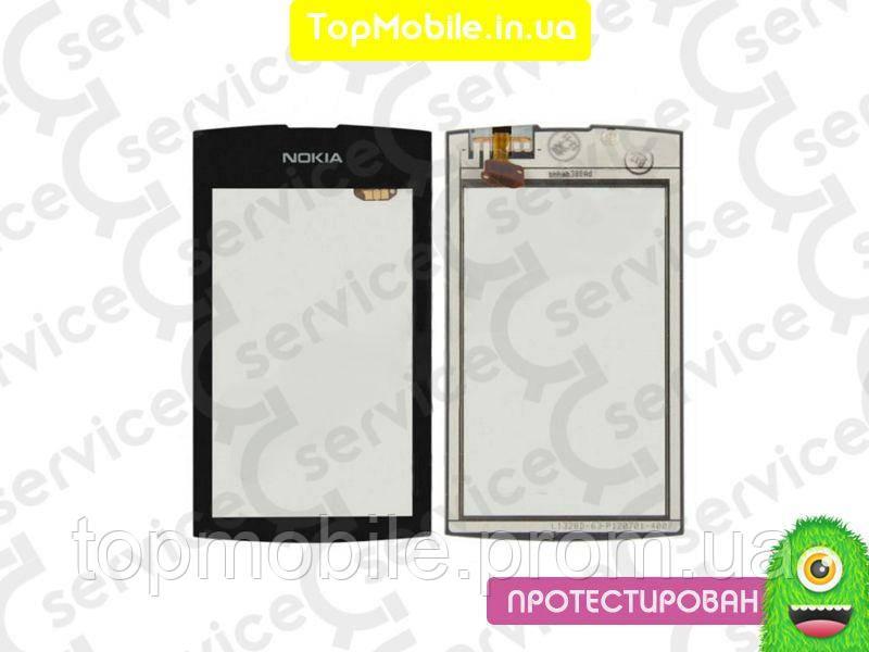 Сенсор Nokia 305 Asha/306 Asha, черный (тачскрин, стекло)