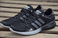 Кроссовки мужские Adidas Black (адидас, реплика)