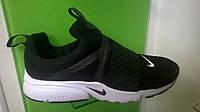 Мужские кроссовки Nike Air Presto Extreme черные с белым, размеры с 41 по 45