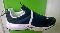 Мужские кроссовки Nike Air Presto Extreme синие с белым, размеры с 41 по 45
