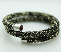 Женские украшения на руку. Кольца- браслеты- жгуты из стекляруса 1134