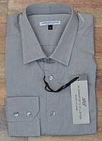 Классическая серая рубашка от итальянского бренда