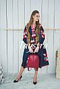 Платье  бохо вышиванка лен,4 клина, стиль бохо шик, вишите плаття вишиванка, Bohemian,стиль Вита Кин, фото 6