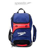 Большой рюкзак Speedo Teamster Large 35L (Navy/Red/White), фото 1