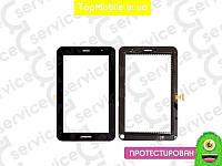 "Тачскрин  Samsung P6200 Galaxy Tab Plus 7.0""/P6210, чёрный (сенсор, touch screen)"