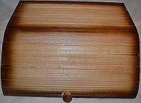 Хлебница деревянная Тройка  .