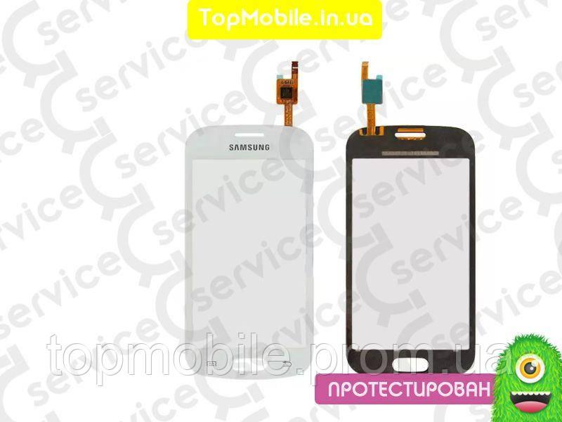 Сенсор Samsung S7390 Galaxy Trend Lite, белый, Ceramic White ( стекло, тачскрин)