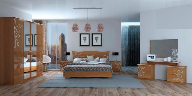 спальня Богема вишня бизюм