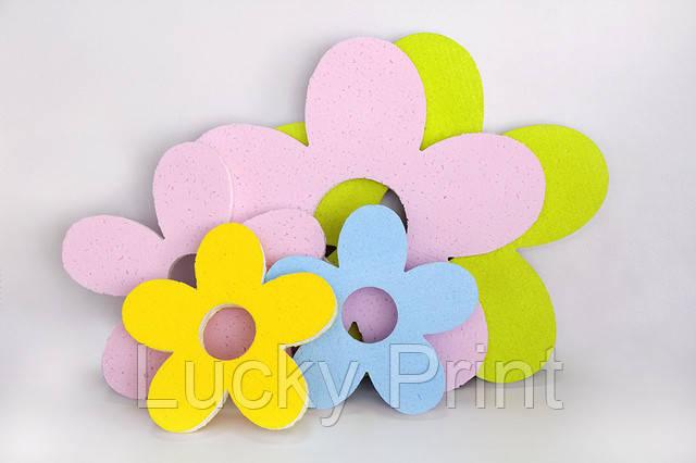 Цветочки из пенопласта
