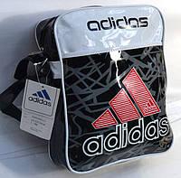 Сумка лаковая через плечо adidas