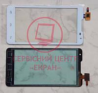 Сенсор Prestigio Multiphone 5044 DUO тачскрін білий