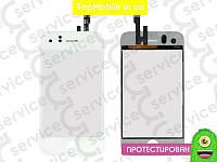 Тачскрин  iPhone 3GS, белый (сенсор, touch screen)