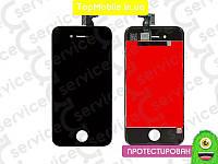 Модуль iPhone 4S (дисплей + тачскрин) черный, копия