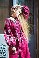 Платье женское вышитое бохо вышиванка лен, этно, стиль бохо шик, вишите плаття вишиванка, Bohemian