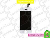 Дисплей  iPhone 5S/SE + Touchscreen, белый, оригил (Китай)