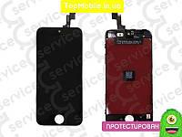 Модуль iPhone 5S/SE (дисплей + тачскрин), черный, оригил (Китай)