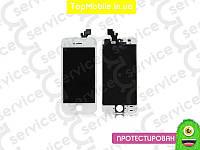 Модуль iPhone 5 (дисплей + тачскрин), белый, копия высокого качества
