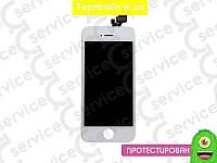 Дисплей  iPhone 5 + Touchscreen, белый, оригил (Китай)