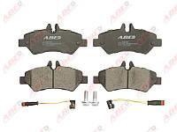 Колодки тормозные (задние) MB Sprinter 209-319 CDI/VW Crafter 30-35 06- ABE