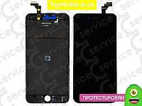 Модуль iPhone 6 Plus (дисплей + тачскрин) чёрный, копия высокого качества