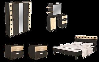 Спальня с шкафом малым и туалеткой Айнур