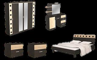 Спальня с шкафом большим и туалеткой Айнур