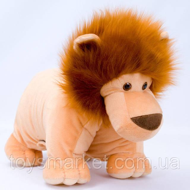 Плюшевая подушка, Лев
