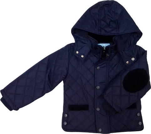 Демисезонная куртка для мальчика ТМ Deli синяя размеры 86 , фото 2