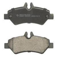 Колодки тормозные (задние) MB Sprinter 209-319 CDI/VW Crafter 30-35 06- AST