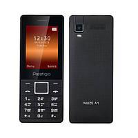 """Мобильный телефон Prestigio 1241 DS Black черный (2SIM) 2,4"""" 32/32 МБ+SD 0,08 Мп оригинал Гарантия!"""